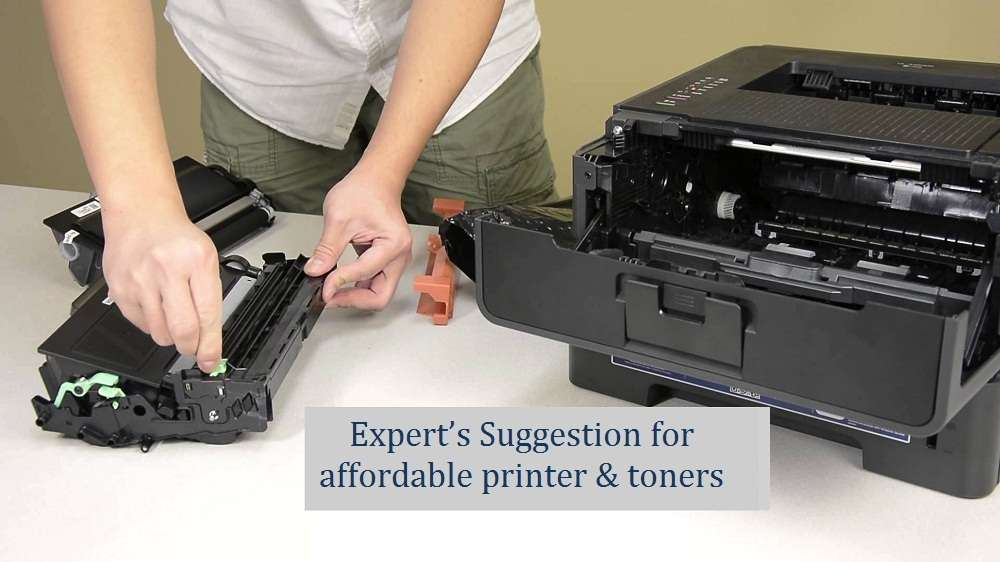 Expert's Suggestion for affordable printer & toners